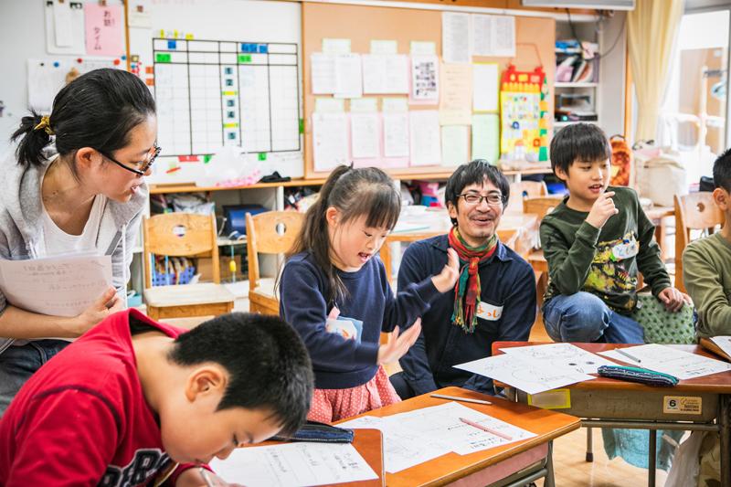ワークショップ報告 10月24日(水) 隅田小学校